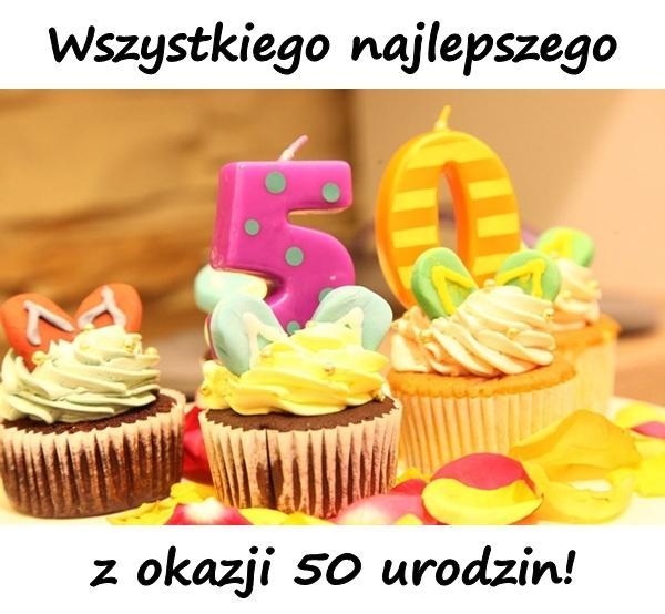 Mem Mem Kartka Urodzinowa życzenia 50 Urodziny