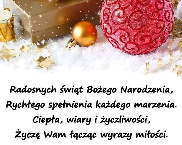 Wigilia życzenia świąteczne Na Boże Narodzenie Wiersz