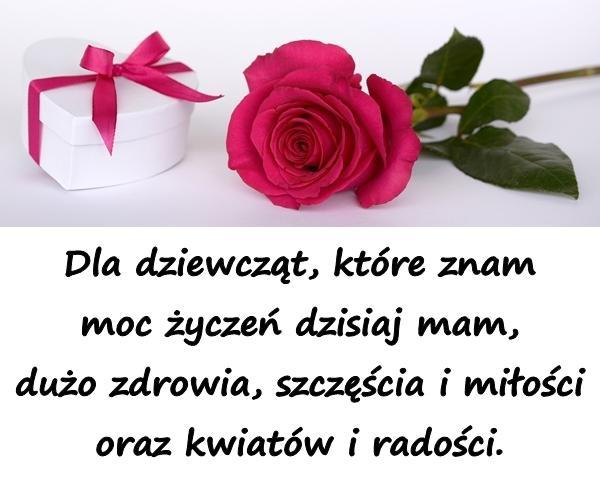 życzenia Wiersz Kartki Na Dzień Kobiet życzenia Na